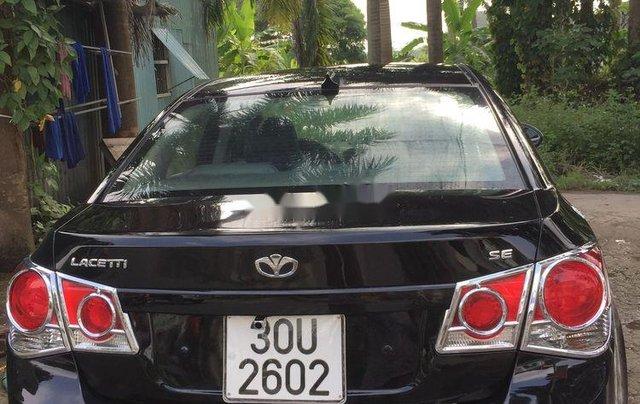 Cần bán Daewoo Lacetti sản xuất 2009, màu đen, xe nhập còn mới2