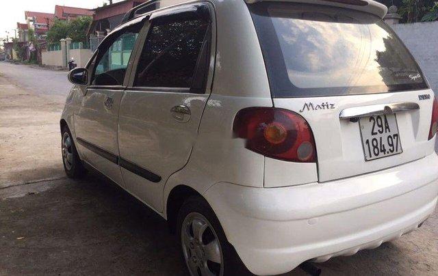 Bán Daewoo Matiz sản xuất 2008, màu trắng còn mới4