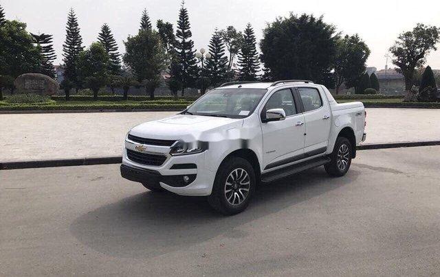 Bán Chevrolet Colorado đời 2019, màu trắng, bản full, nhập Thái, sẵn xe0