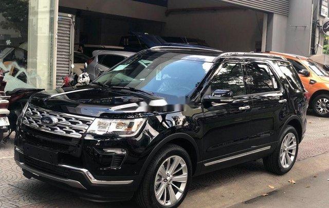 Bán Ford Explorer năm sản xuất 2018, màu đen, nhập khẩu, full 4 màu, giao ngay0