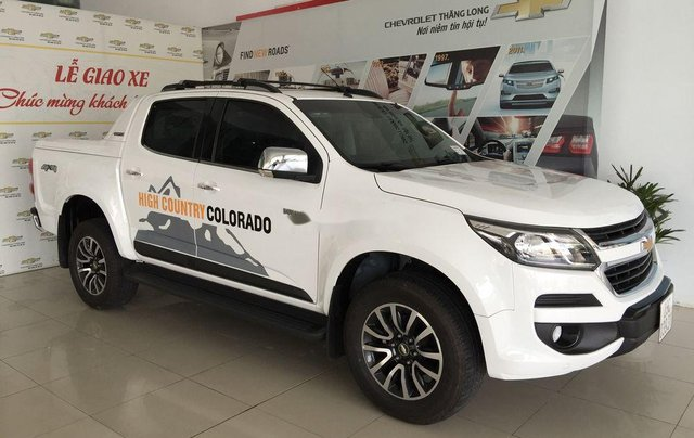 Bán Chevrolet Colorado đời 2019, màu trắng, bản full, nhập Thái, sẵn xe5