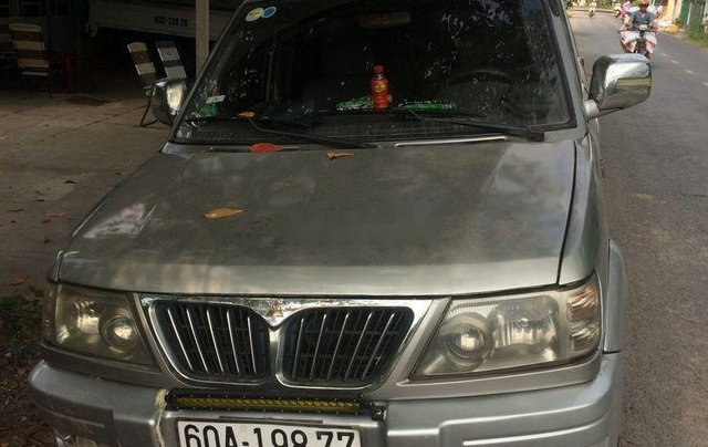 Bán Mitsubishi Jolie đời 2003, màu bạc, xe nhập10