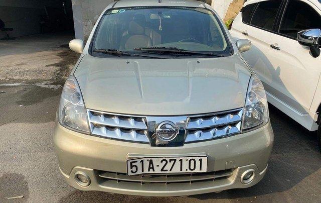 Bán Nissan Livina 2011, màu vàng, xe nhập số tự động, 325tr0