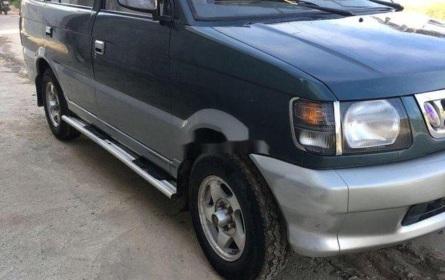 Nhà cần bán xe Mitsubishi Jolie năm sản xuất 1998, màu xanh rêu1