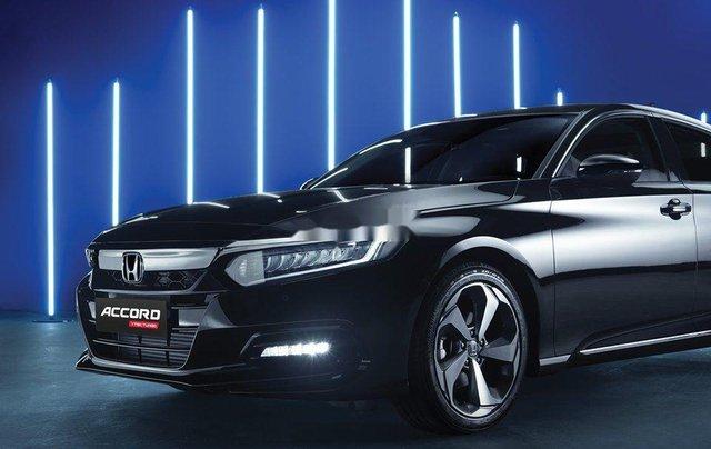 Bán Honda Accord TURBO năm 2019, màu đen, nhập khẩu. Ưu đãi hấp dẫn2