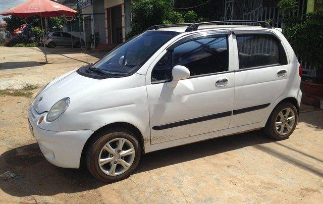 Xe Daewoo Matiz đời 2008, màu trắng còn mới giá cạnh tranh0