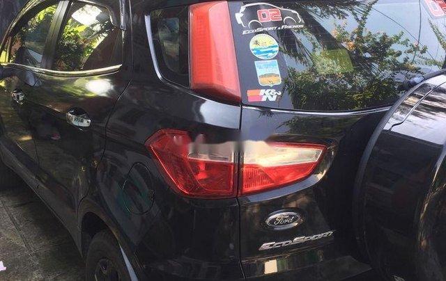 Bán Ford EcoSport sản xuất năm 2016, màu đen còn mới giá cạnh tranh1