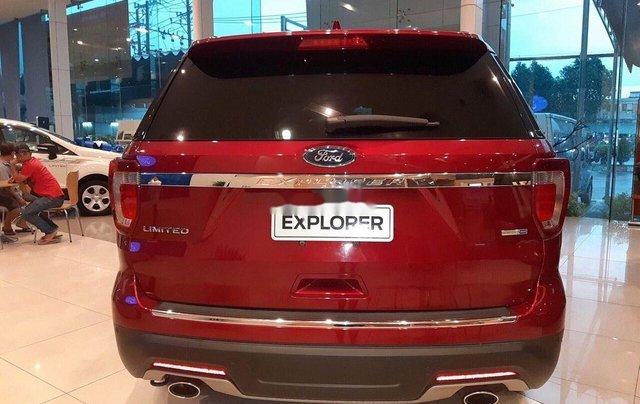Bán ô tô Ford Explorer Limited đời 2019, màu đỏ, nhập khẩu nguyên chiếc2