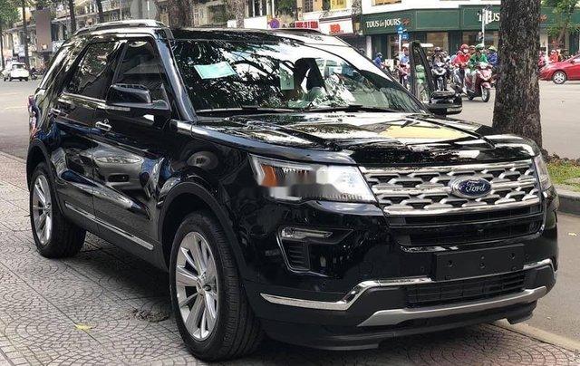 Bán Ford Explorer năm sản xuất 2018, màu đen, nhập khẩu, full 4 màu, giao ngay1