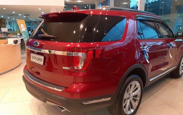 Bán ô tô Ford Explorer Limited đời 2019, màu đỏ, nhập khẩu nguyên chiếc5