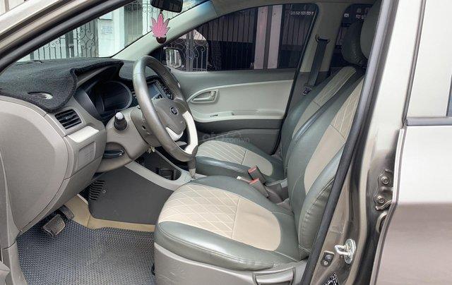 Cần bán Kia Morning van 2012 màu xám bản có ABS4