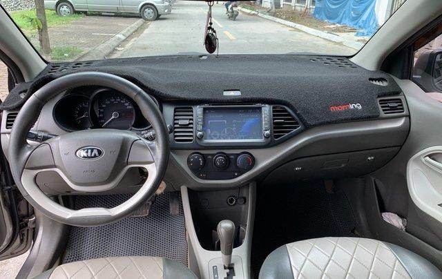Cần bán Kia Morning van 2012 màu xám bản có ABS6
