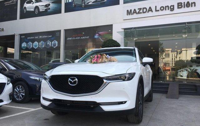 Bán nhanh chiếc xe Mazda CX 5 đời 2019, màu trắng2