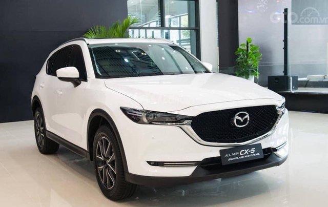 Bán nhanh chiếc xe Mazda CX 5 đời 2019, màu trắng4