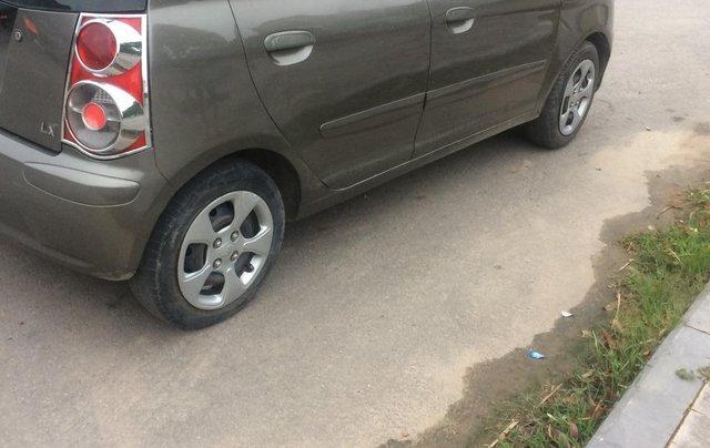 Bán ô tô Kia Morning sản xuất 2009, màu xám (ghi)0