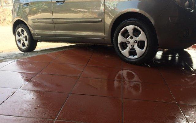 Bán ô tô Kia Morning sản xuất 2009, màu xám (ghi)5