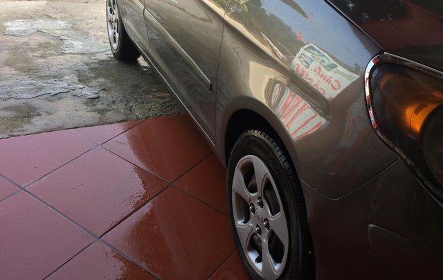 Bán ô tô Kia Morning sản xuất 2009, màu xám (ghi)4