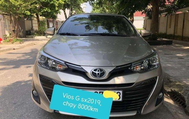 Cần bán Toyota Vios năm sản xuất 2019, màu vàng còn mới, 575 triệu0