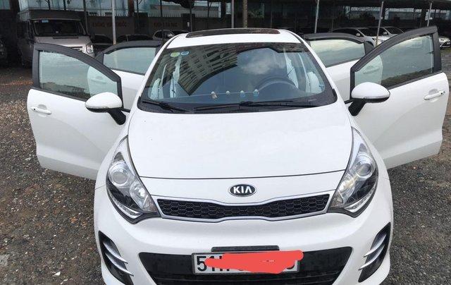 Bán xe Kia Rio Full options đời 2015, màu trắng, xe nhập - Liên hệ Mr.Dương 09388112661