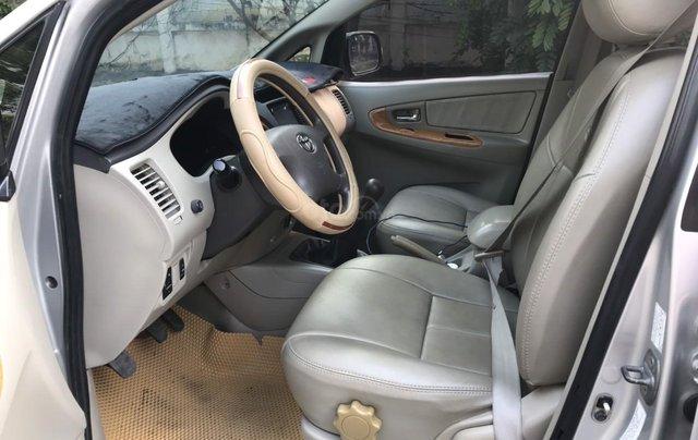 Bán ô tô Toyota Innova đăng ký 2010, màu bạc nhập khẩu nguyên chiếc giá chỉ 355 triệu đồng8
