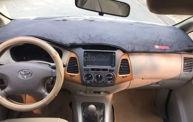 Bán ô tô Toyota Innova đăng ký 2010, màu bạc nhập khẩu nguyên chiếc giá chỉ 355 triệu đồng11