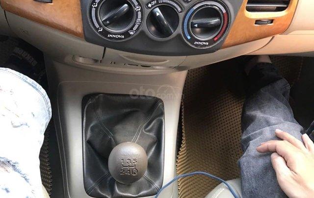 Bán ô tô Toyota Innova đăng ký 2010, màu bạc nhập khẩu nguyên chiếc giá chỉ 355 triệu đồng9