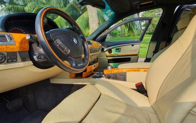 Thanh lý xe BMW 760Li Individual (phiên bản đặt mới theo yêu cầu riêng từ hãng BMW), động cơ V12, 6.0 đời 20091