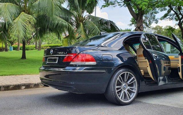 Thanh lý xe BMW 760Li Individual (phiên bản đặt mới theo yêu cầu riêng từ hãng BMW), động cơ V12, 6.0 đời 20096