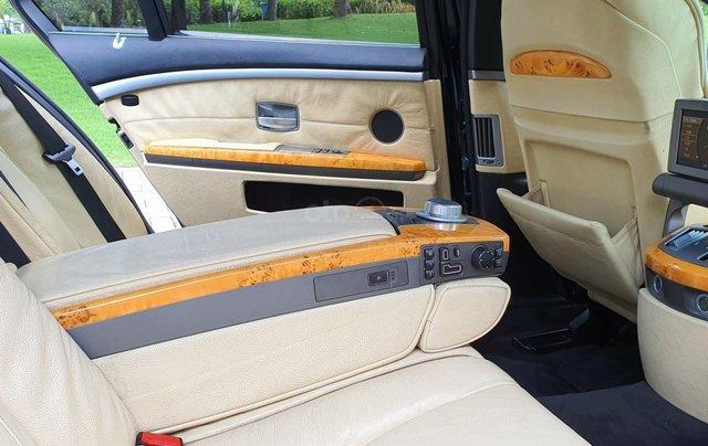 Thanh lý xe BMW 760Li Individual (phiên bản đặt mới theo yêu cầu riêng từ hãng BMW), động cơ V12, 6.0 đời 200911