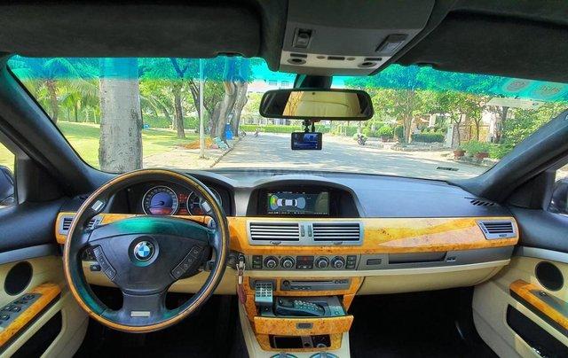 Thanh lý xe BMW 760Li Individual (phiên bản đặt mới theo yêu cầu riêng từ hãng BMW), động cơ V12, 6.0 đời 200913