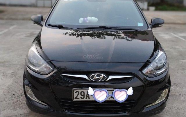 Bán Hyundai Accent đăng ký 2011, màu đen, xe gia đình, giá chỉ 350 triệu đồng, LH: 09797578890