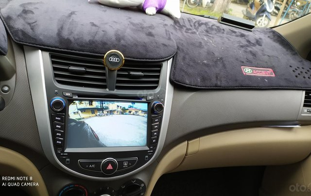 Bán Hyundai Accent đăng ký 2011, màu đen, xe gia đình, giá chỉ 350 triệu đồng, LH: 097975788910