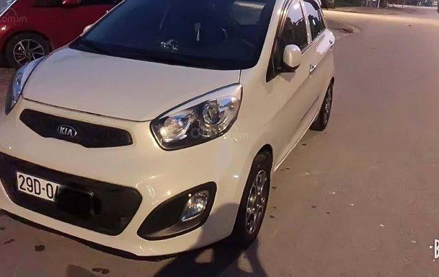 Cần bán Kia Morning 2014, màu trắng, nhập khẩu  0