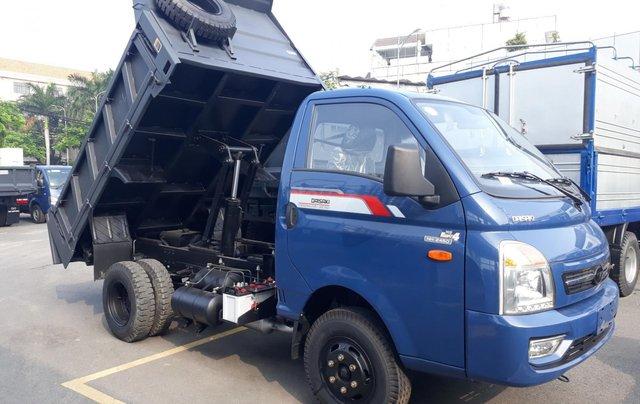 Bán xe ben Daisaki 2T4 máy Isuzu thùng 2 khối2