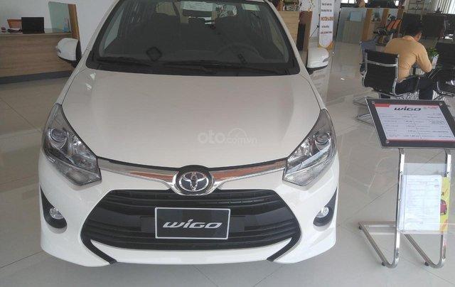Toyota Wigo 1.2G số sàn 335tr, số tự động 385tr, bán trả góp lãi 0%, trả 100tr nhận ngay xe0