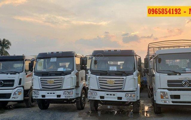 Bán FAW Xe tải thùng sản xuất năm 2019, màu trắng, xe nhập, ưu đãi cực khủng nhân dịp cuối năm