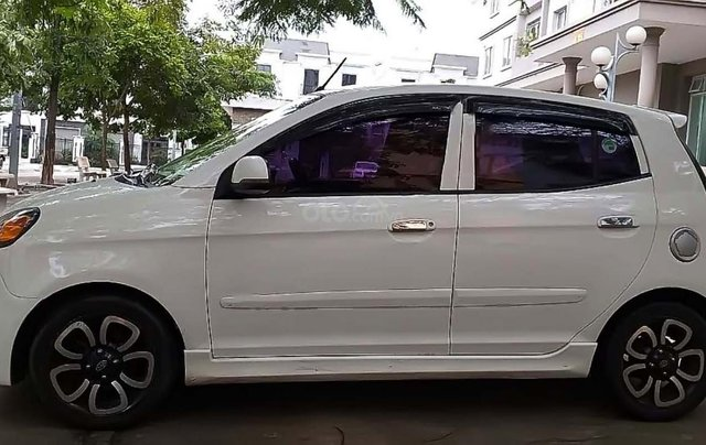 Bán Kia Morning SLX 1.0 AT 2009, màu trắng, nhập khẩu, xe gia đình, 239tr0