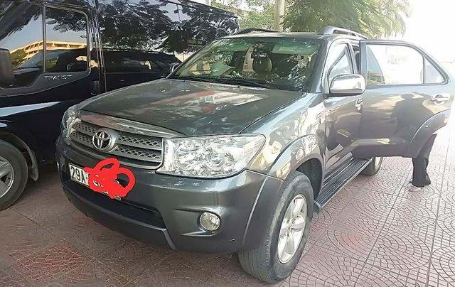 Cần bán lại Toyota Fortuner sản xuất 2009, giá chỉ 550 triệu0