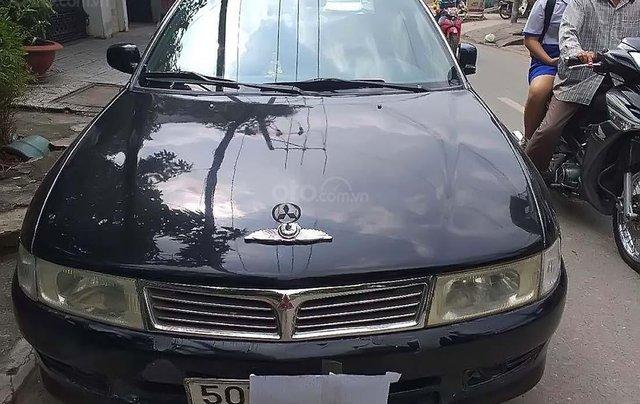 Bán Mitsubishi Lancer GLX 1.6 MT đời 2000, màu đen số sàn0