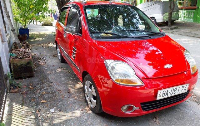 Cần bán xe Chevrolet Spark đăng ký lần đầu 2011, màu đỏ nhập khẩu giá 139 triệu đồng3