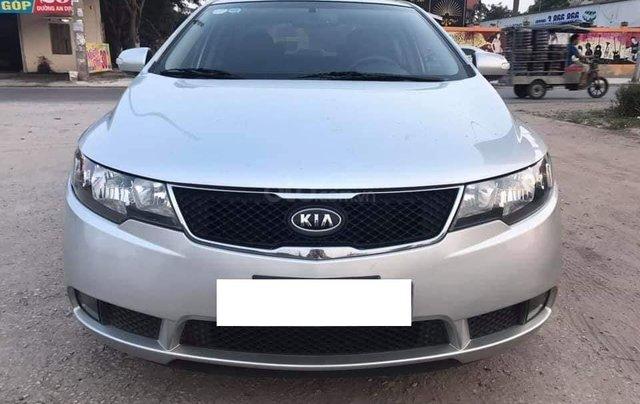 Bán Kia Cerato 1.6 tự động màu bạc sản xuất 2010 biển Hà Nội - liên hệ: 09768889780