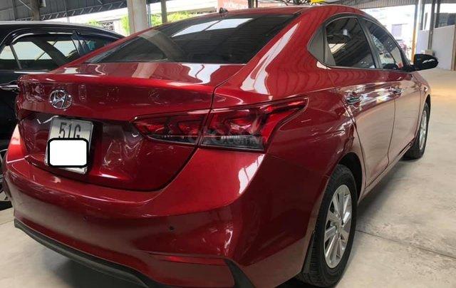 Bán Hyundai Accent bản đủ đời 2018, số sàn màu đỏ, giá chỉ 476 triệu2