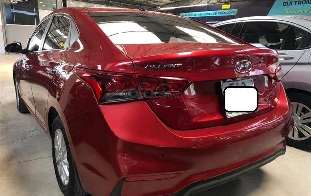 Bán Hyundai Accent bản đủ đời 2018, số sàn màu đỏ, giá chỉ 476 triệu3