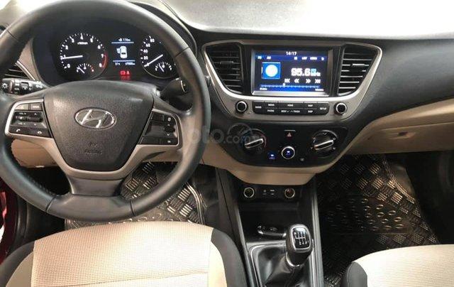 Bán Hyundai Accent bản đủ đời 2018, số sàn màu đỏ, giá chỉ 476 triệu7