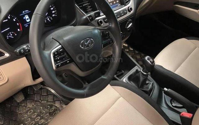 Bán Hyundai Accent bản đủ đời 2018, số sàn màu đỏ, giá chỉ 476 triệu6