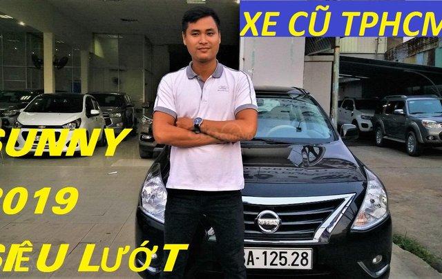 Cần bán Nissan Sunny 1.5MT sản xuất năm 2019, màu đen1