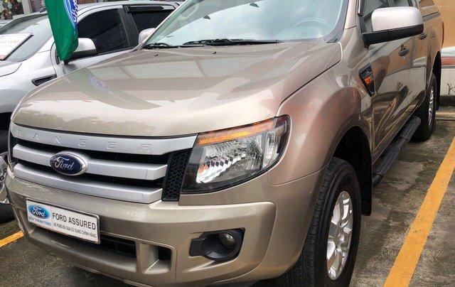 Cần bán lại xe Ford Ranger đăng ký 2014, màu ghi vàng còn mới giá tốt 479 triệu đồng0