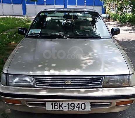 Cần bán gấp Toyota Corona GL 1.6 sản xuất năm 1990, màu kem (be), nhập khẩu, giá chỉ 40 triệu0