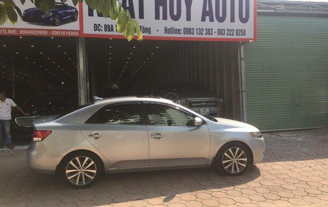Bán Kia Cerato 1.6AT sản xuất 2011, màu bạc, nhập khẩu nguyên chiếc0