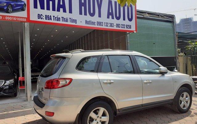 Bán Hyundai Santa Fe 2.7AT đời 2007, màu bạc, nhập khẩu3